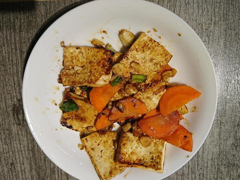 炭燒石板豆腐