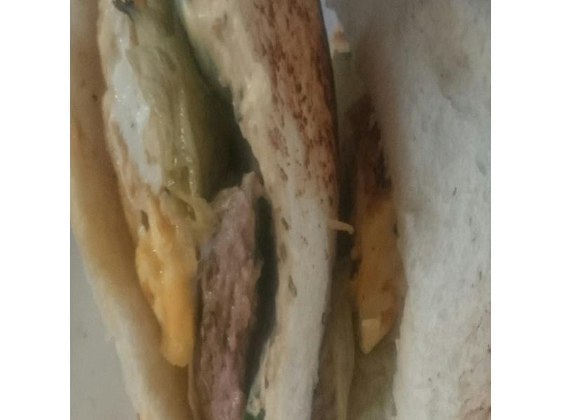 肉片三明治