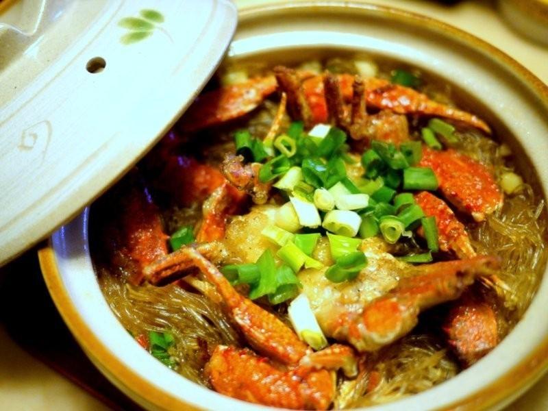 ♫鍋物-無敵海景螃蟹粉絲煲(梭子蟹)