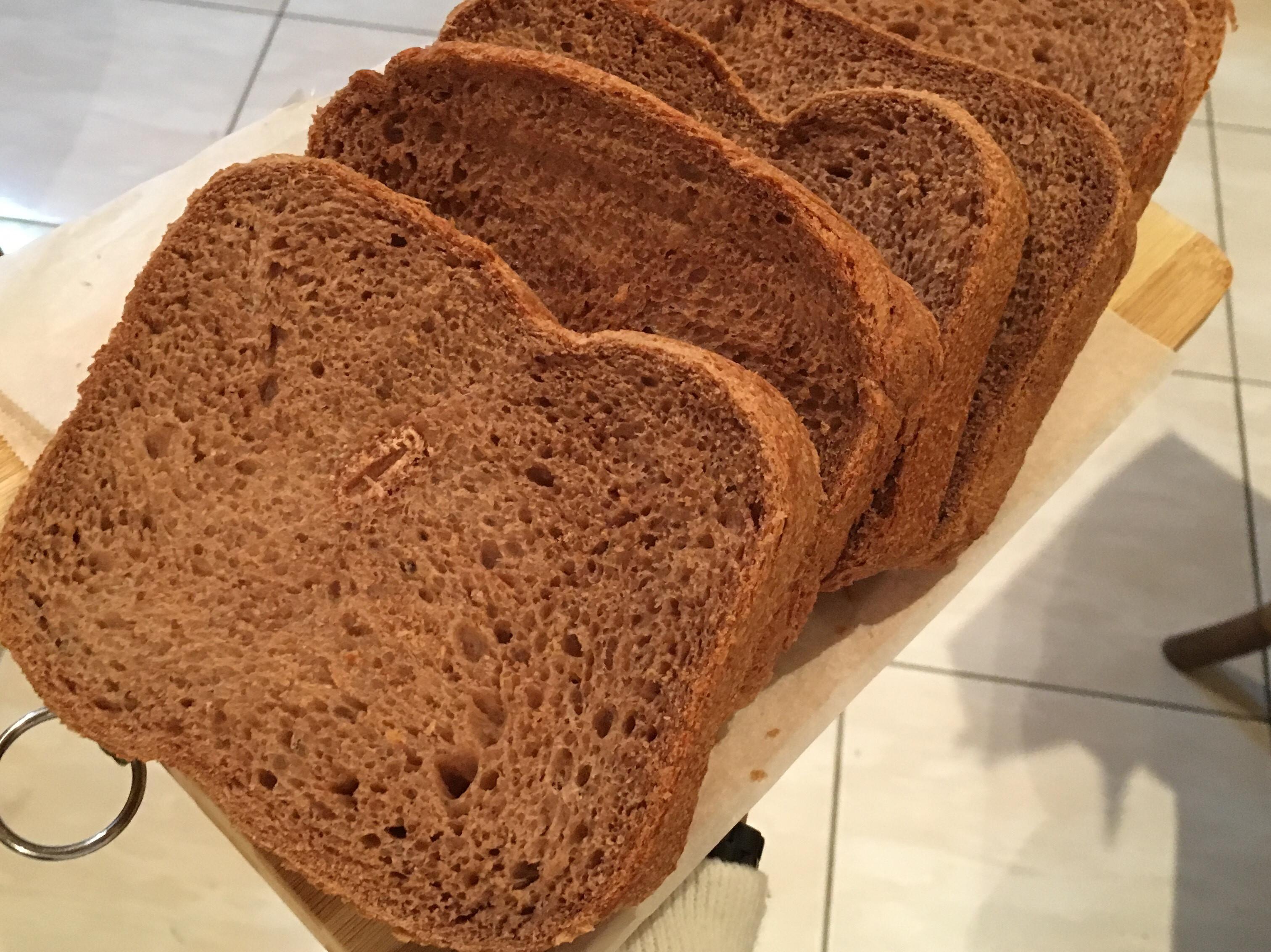 美碌全麥土司 #麵包機食譜