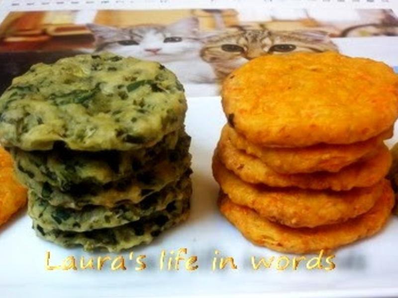 天然健康蔬菜餅乾