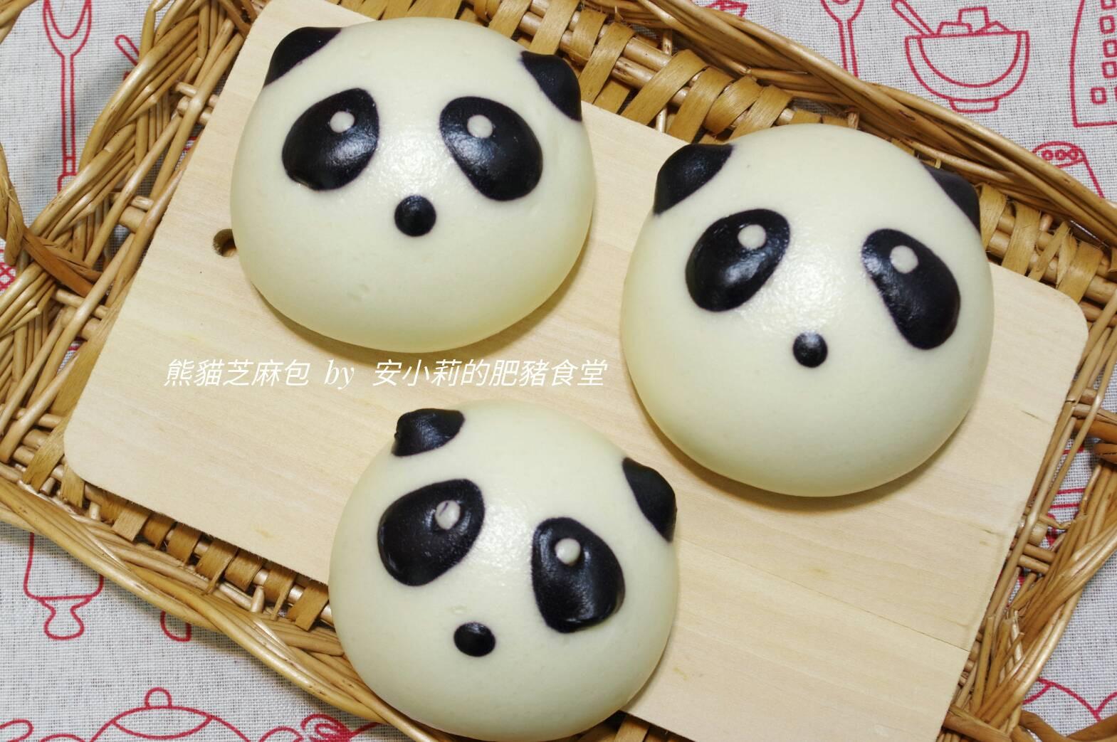 熊貓芝麻包