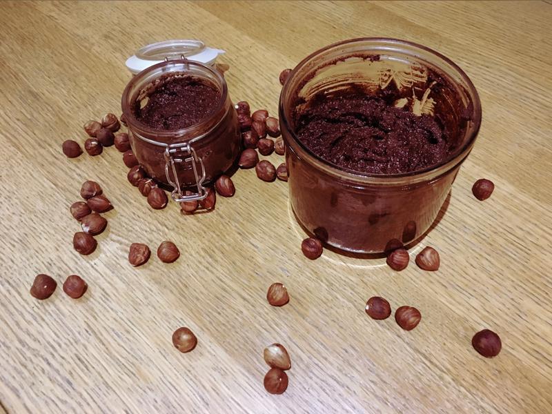 健康少甜版榛果巧克力醬(附影音教學)
