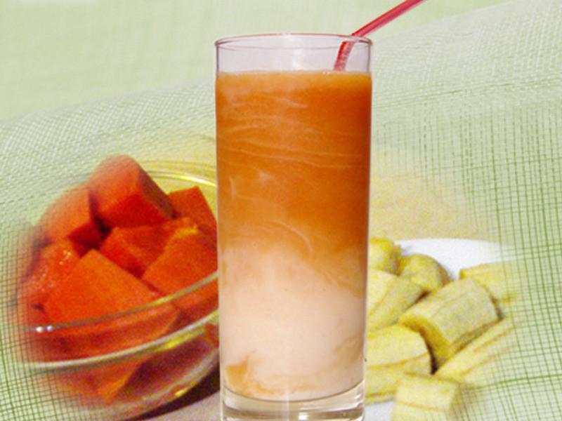 【厚生廚房】木瓜香蕉牛奶