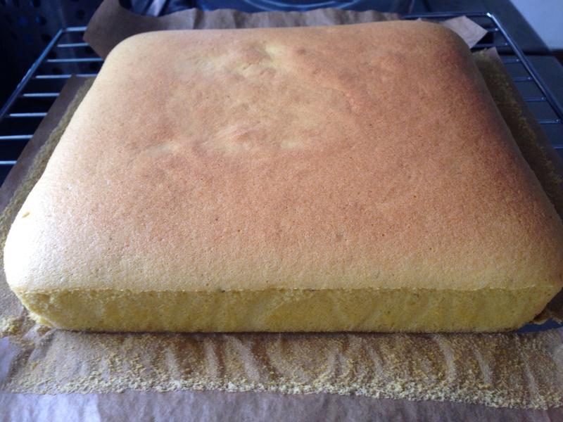 南瓜蜂蜜枕頭蛋糕(燙麵法)