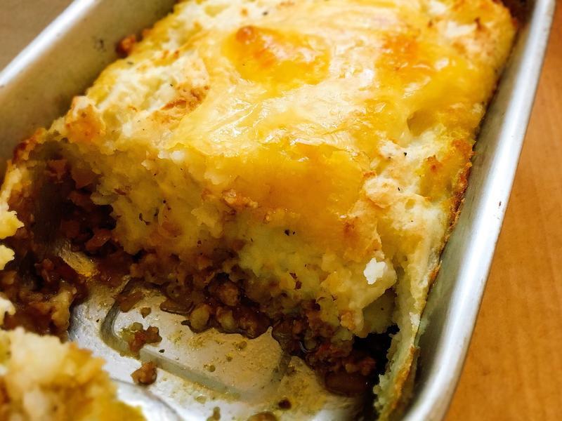【週末悠閒料理。小烤箱】牧羊人派