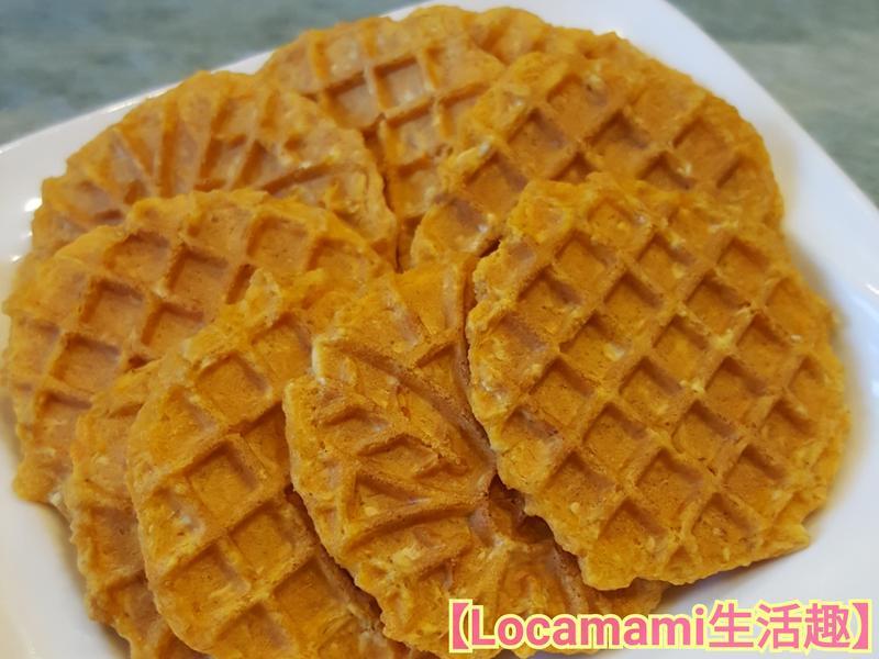 【寶寶甜點】地瓜燕麥薄餅