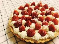 草莓鮮奶油乳酪派(8吋)