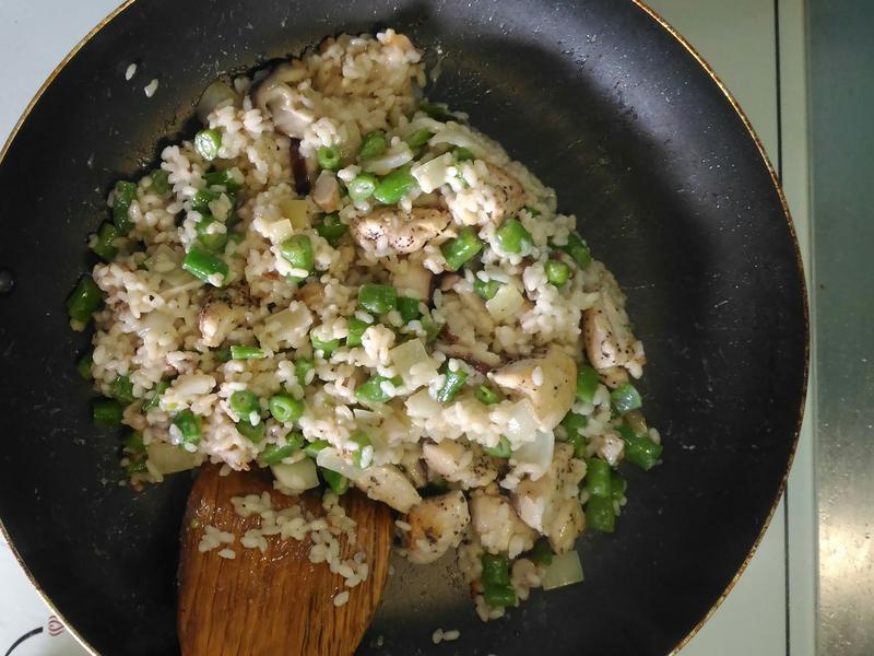 菇菇雞肉燉飯