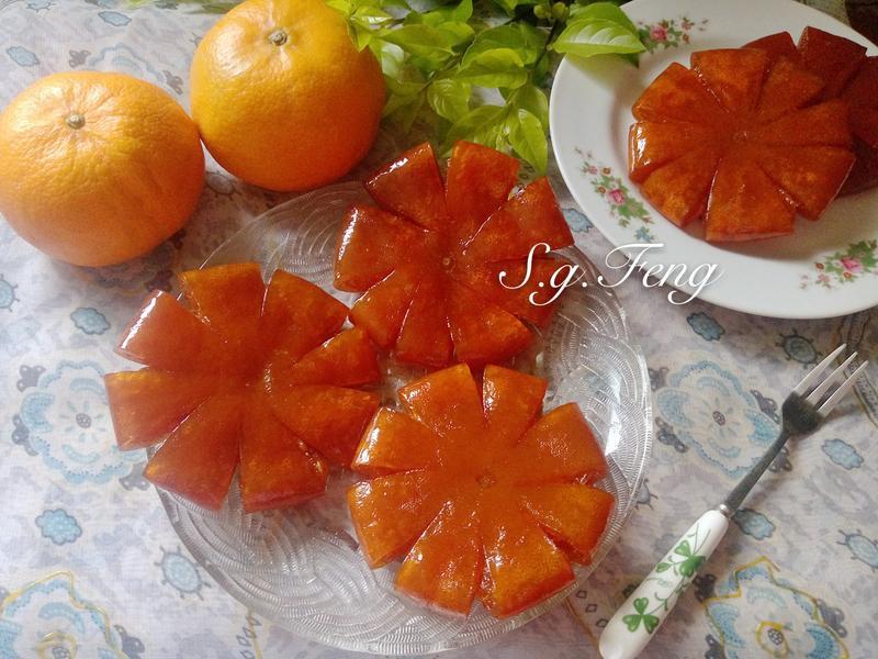 蜜漬柑橘果乾