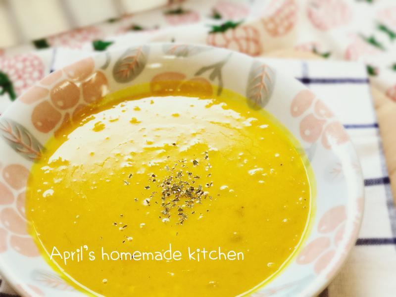 法式南瓜濃湯 超簡易版