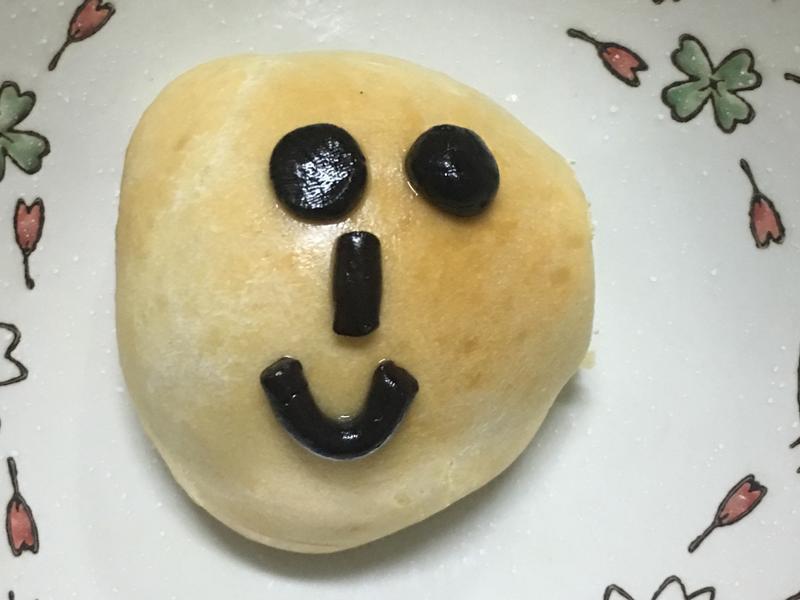 可愛簡單小麵包