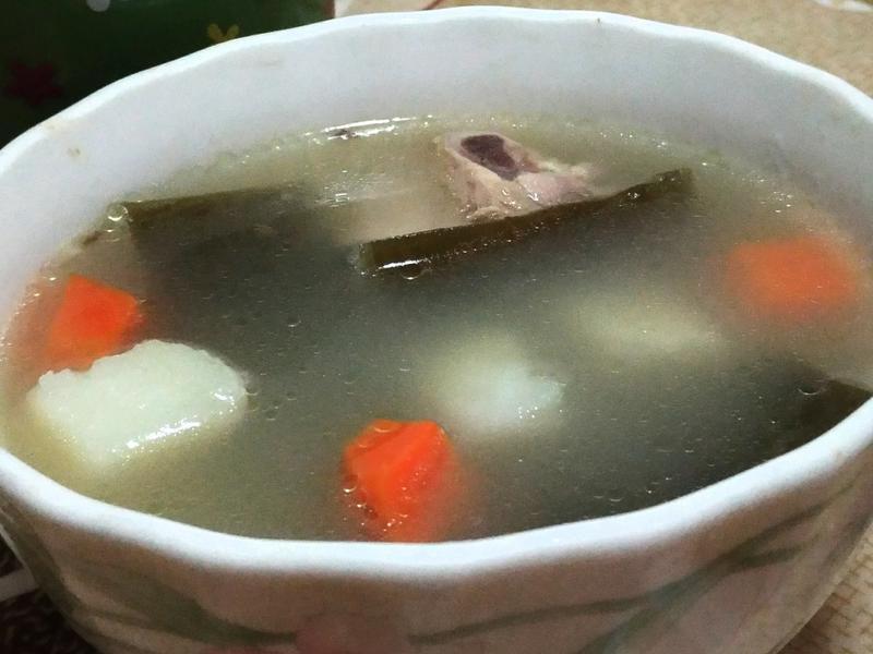 昆布馬鈴薯排骨湯