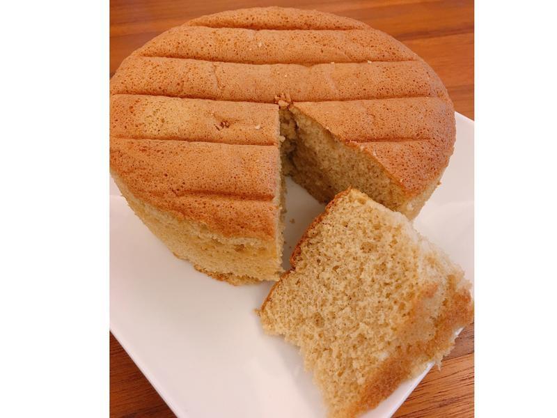 好吃不膩口的無奶油基本款原味海綿蛋糕