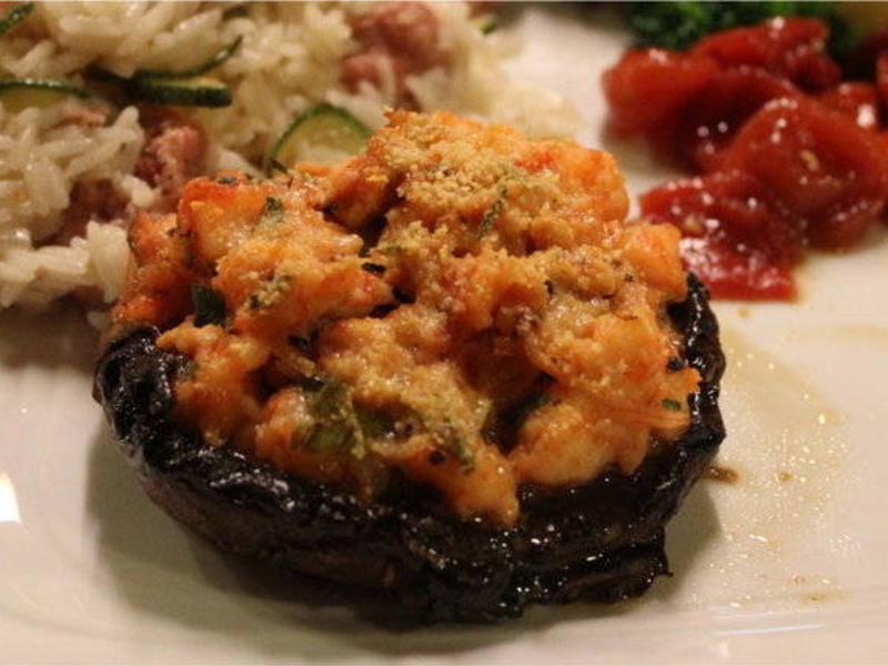 蝦肉波特菇