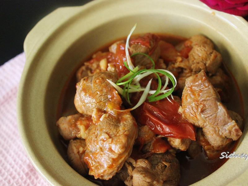 番茄燉豬腱子肉
