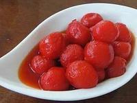 梅酒醃小番茄