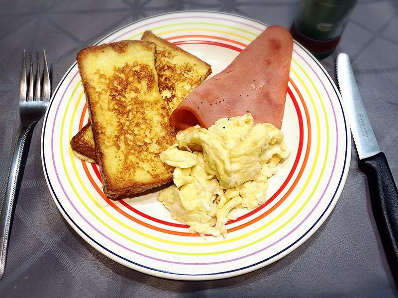 早餐輕鬆做~法式吐司