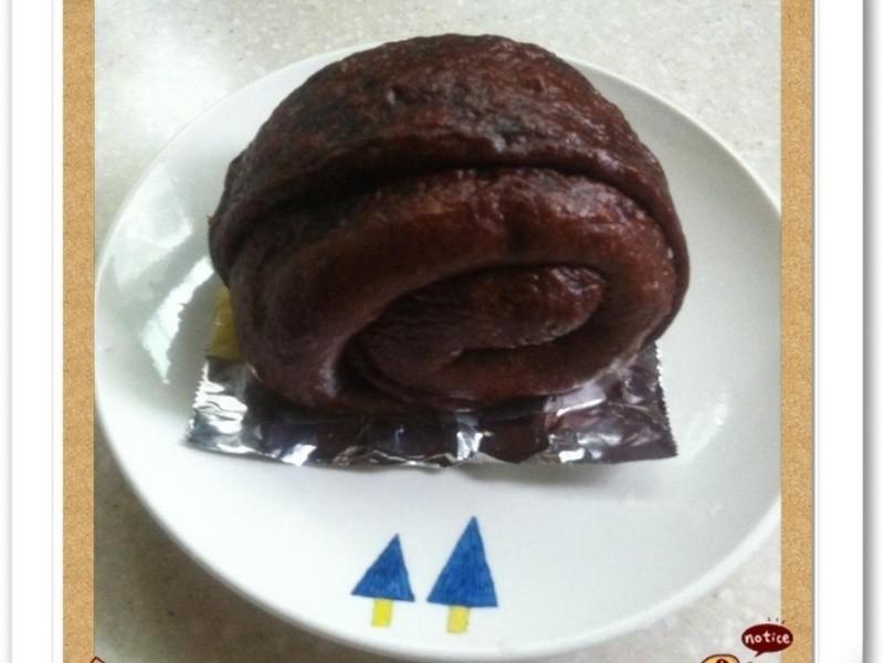 巧克力起司鮮奶饅頭-麵包機