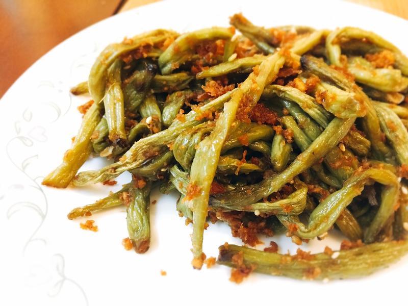 【快速。素食】乾煸四季豆