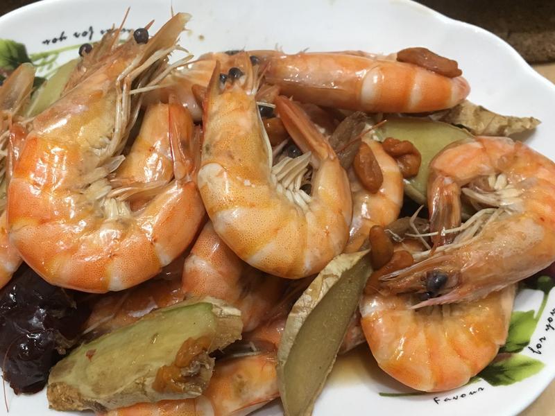 藥膳風味燒酒蝦