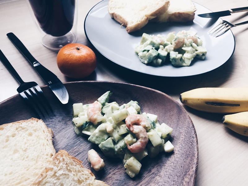 營養滿分🥑酪梨蜂蜜芥末籽蛋沙拉