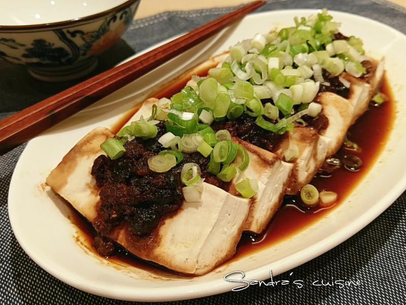豆瓣蒸豆腐