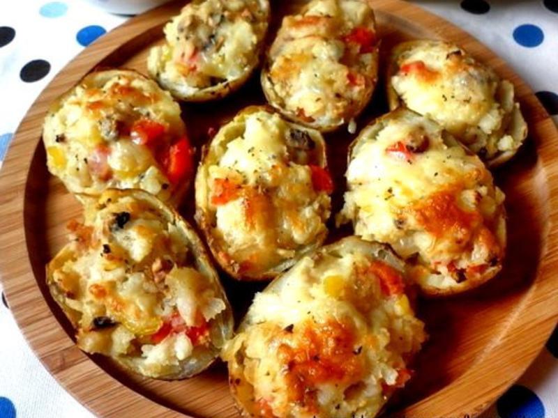 焗烤馬鈴薯盅(奶素)