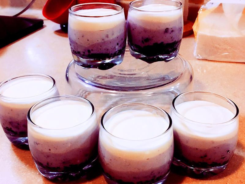 藍莓生乳酪杯 🅴🅰🆂🆈