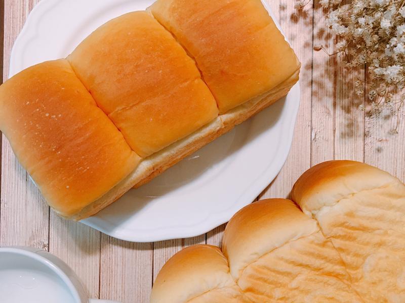 牛奶Q彈吐司(低溫發酵)