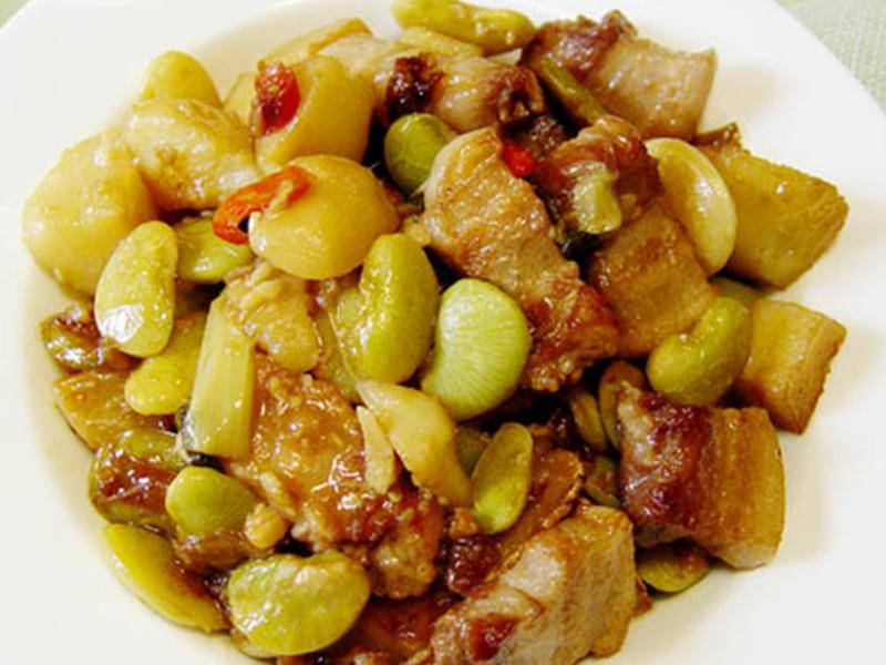 【厚生廚房】皇帝豆燒肉