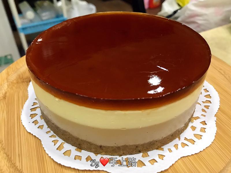 ☕️咖啡凍乳酪蛋糕☕️(5吋、免烤箱)