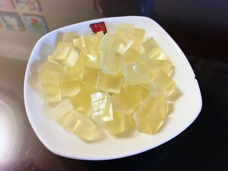 [幼兒食譜] 簡單零失敗之柚子蜜軟糖