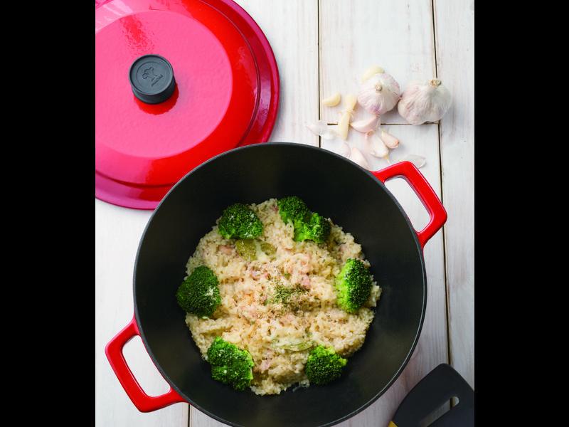【摩堤_鑄鐵鍋料理】奶油雞肉燉飯