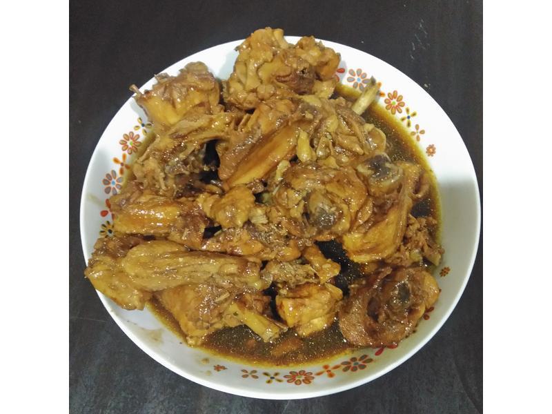 家常菜=酱油鸡