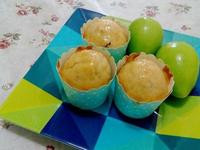 熱帶水果杯子蛋糕(椰子油配方)