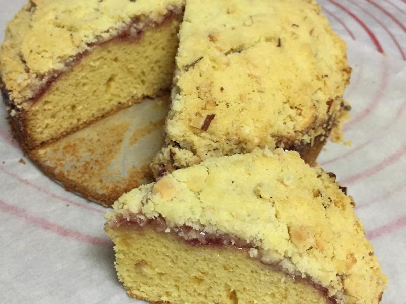 草莓酥蛋糕