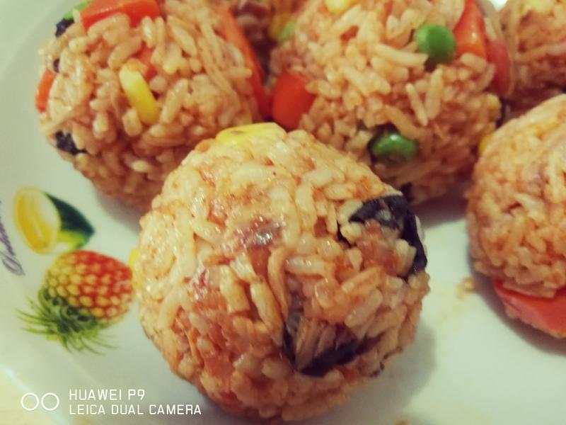 (煮食影片) 韓式飯團