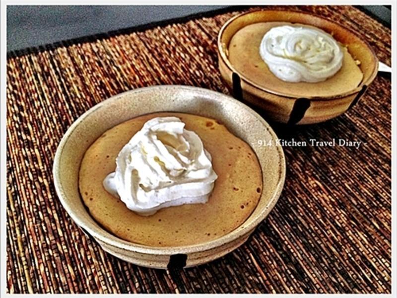 香草奶茶鬆餅杯
