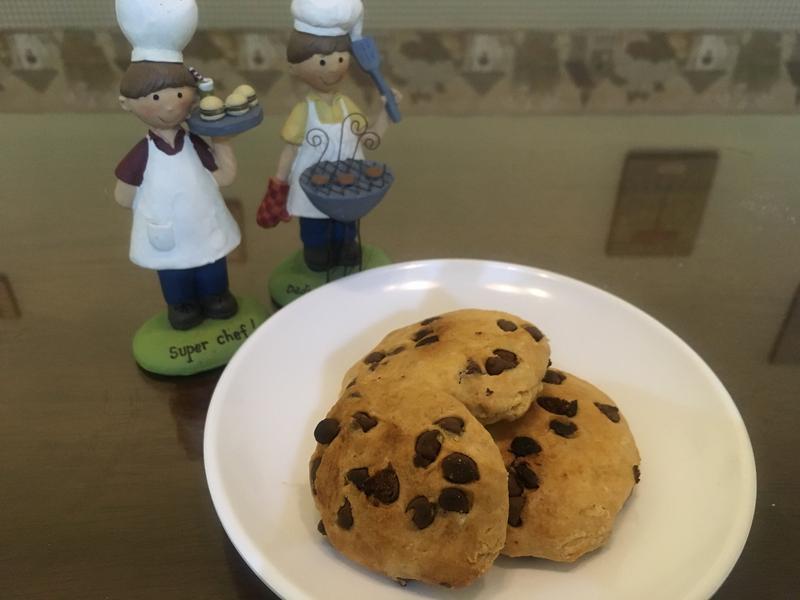 低卡巧克力豆硬餅乾 超簡單 新手一次會