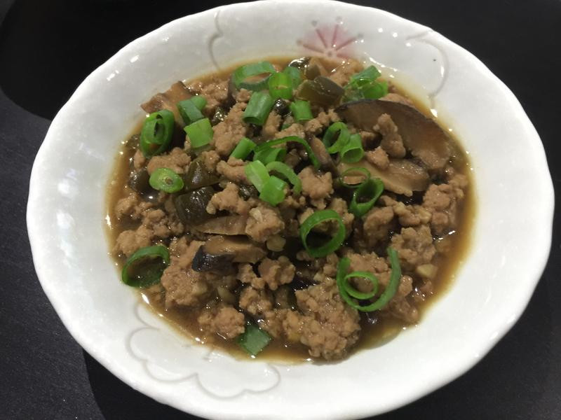 脆瓜香菇肉燥