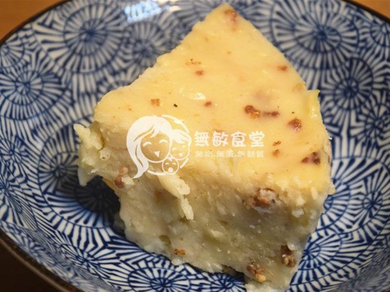 結頭菜糕(偽港式蘿蔔糕)