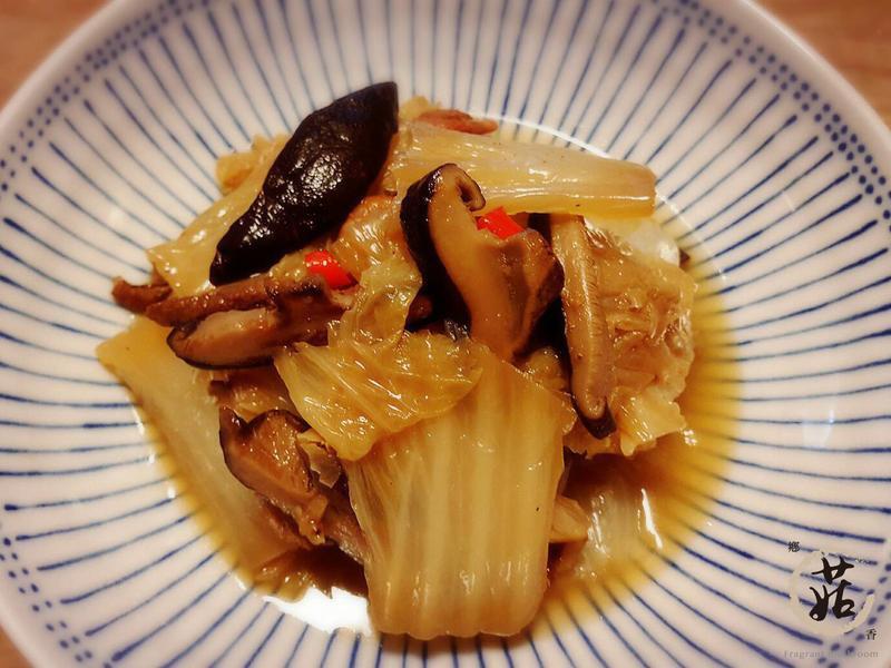 【鄉菇香】香菇魯大白菜