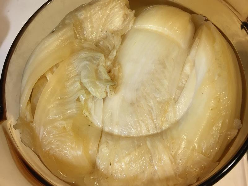 酸白菜製作