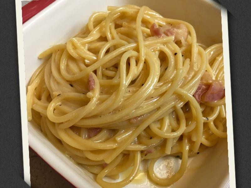 「奶油培根義大利麵」東京人氣主廚食譜
