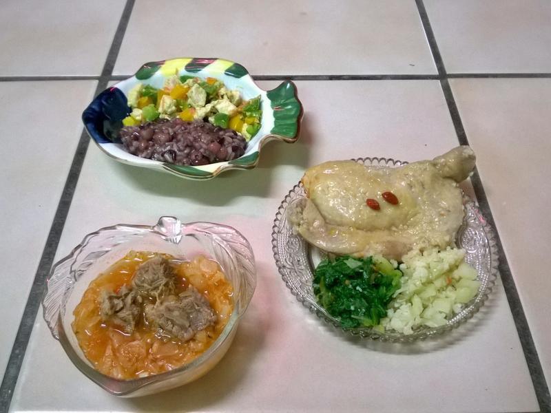 鮮食🐾彩椒雞肉粥 羅宋湯 醉雞