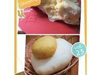 荷包蛋造型沙拉蛋麵包