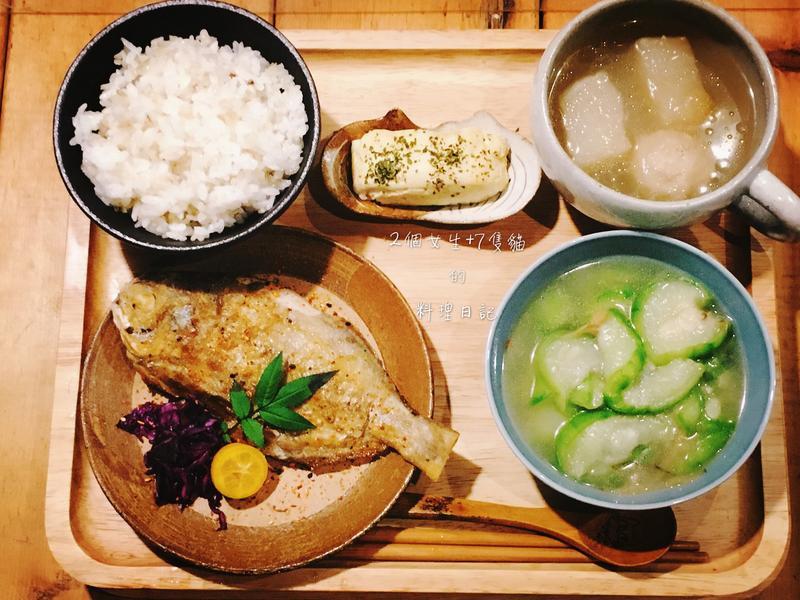 乾煎刺鯧定食【肉魚這樣煎】