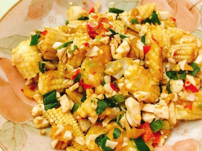 五分鐘上菜❤️金莎玉米筍