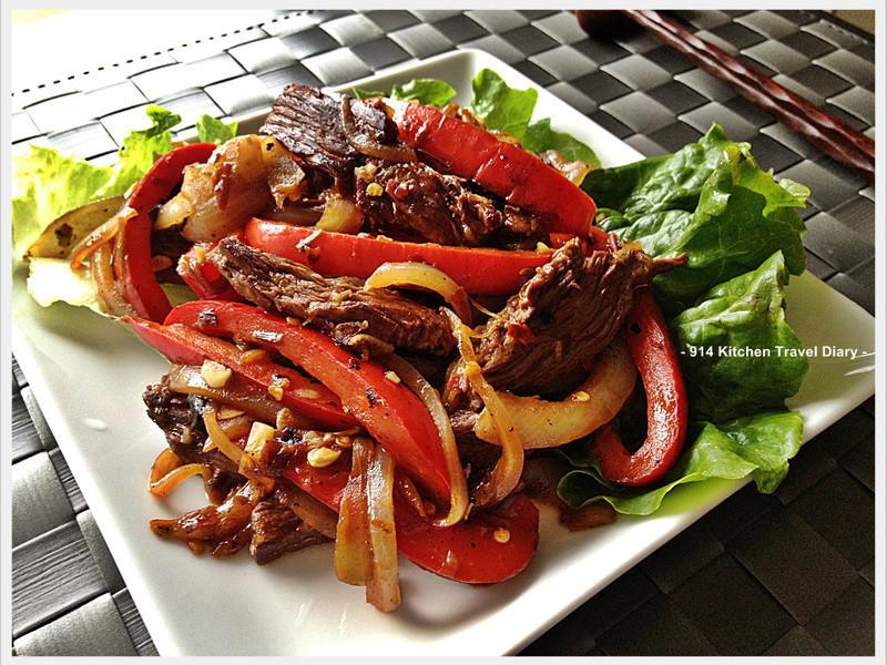 泰式紅椒牛柳